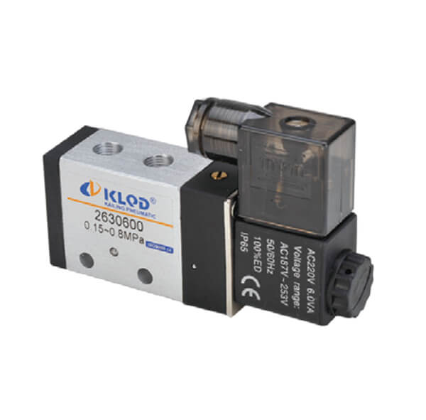 2630 Series 4/2 Way Solenoid Valves With New Construction