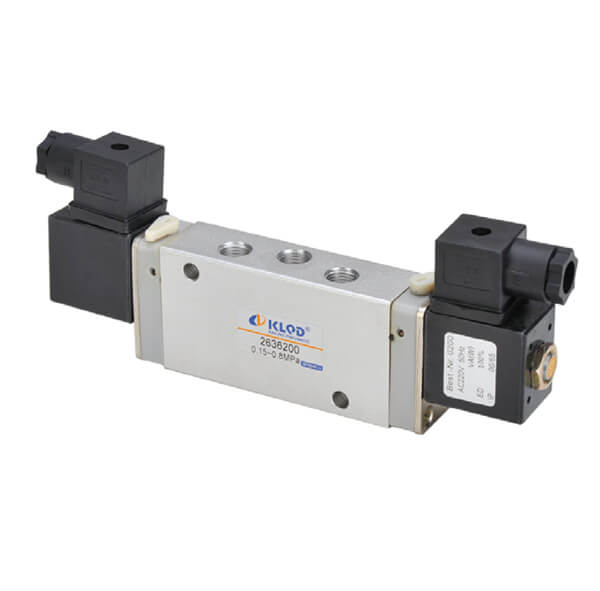 263 Series 5/2 Way Solenoid Valves With New Construction