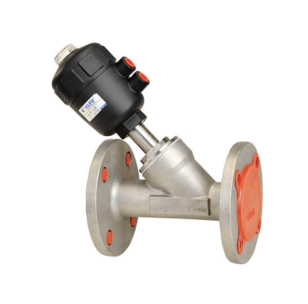 Flange Connection Angle Seat Valve