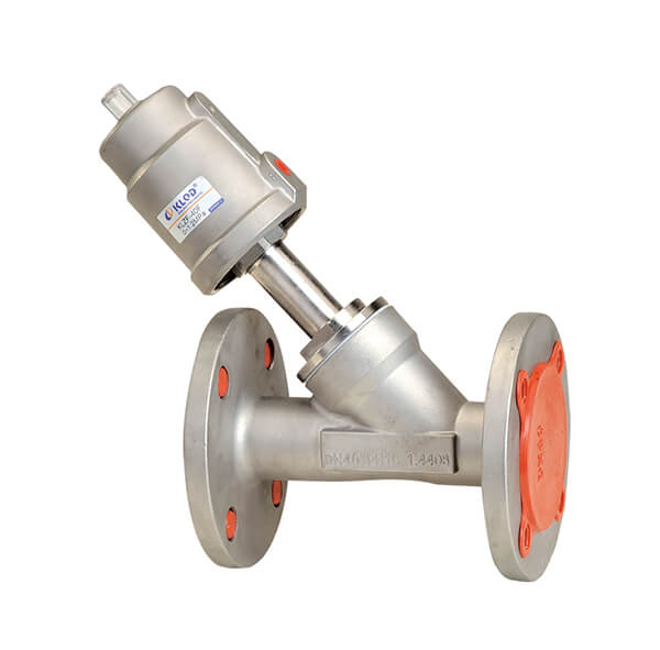 Flange Connection Angle Seat Valve 2