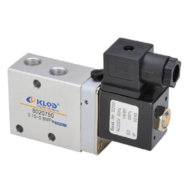 802 Series 3/2 Way Solenoid Valves With New Construction