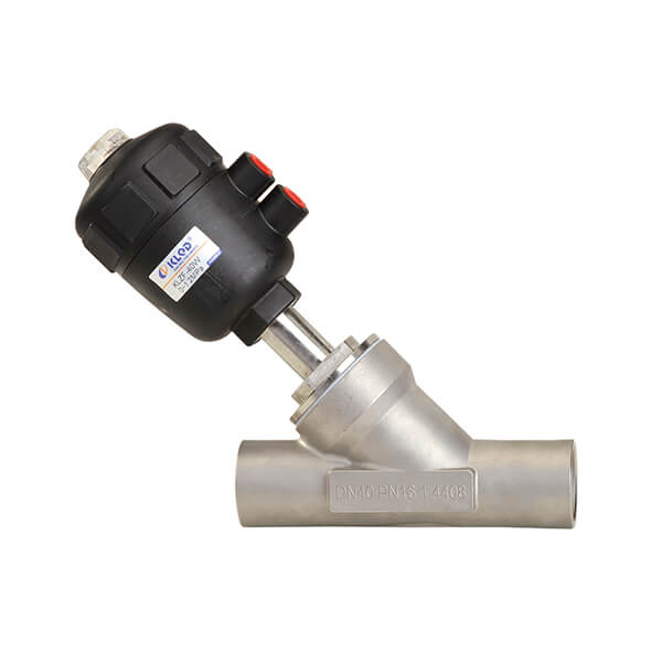 Welding Connection Angle Seat Valve