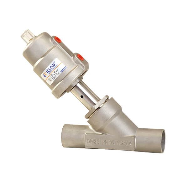 Welding Connection Angle Seat Valve 2