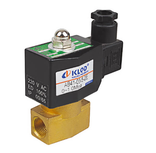 AB41 Direct Acting Solenoid Valve