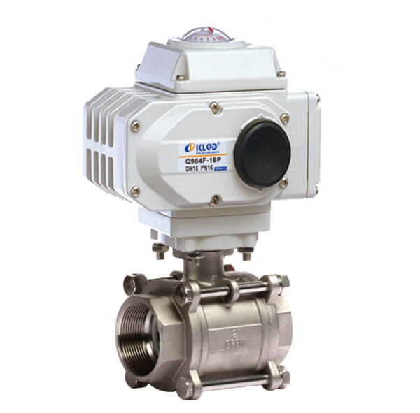 Electric Thread Ball Valve