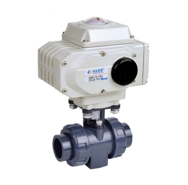 Electric UPVC Ball Valve